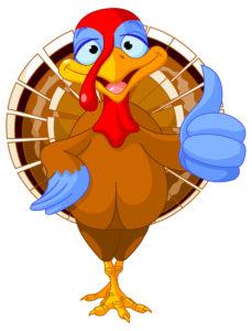 cartoon image of a turkey