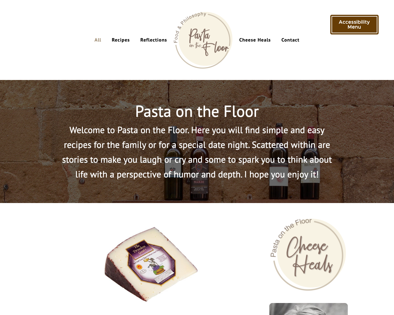 Pasta on the Floor - Web design, content creation, blog writing services.