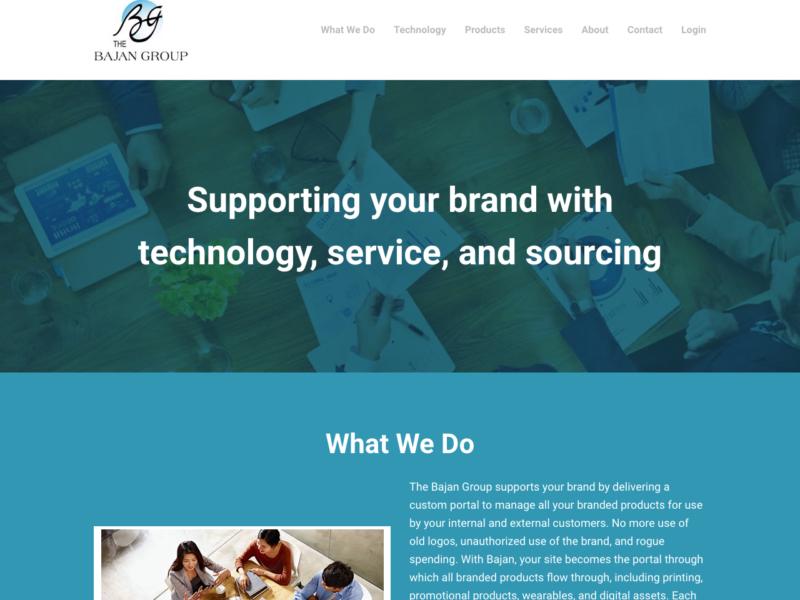 The Bajan Group - Web design, content creation