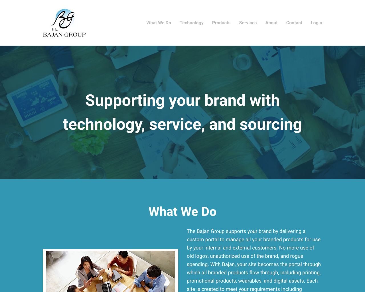The Bajan Group - Web design, content creation
