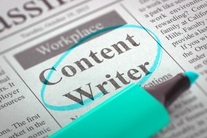 content writer in Schenectady, NY
